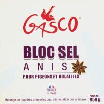 GASCO Bloc Sel Anis 0.95 KG