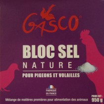 GASCO Bloc Sel Nature 0.95 KG
