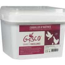 GASCO Coquille huitres seau 4,5kg