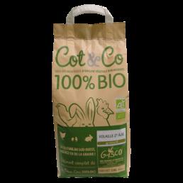 Alimentation pour volaille 2ème âge Bio Cot&Co de la marque gasco