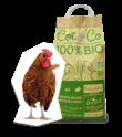 Cot & Co, sans OGM, 100% Bio