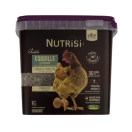 nutrisi coquille 5kg alimentation pour poule et poule pondeuse de la marque gasco