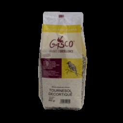 graine de tournesol décortiquées pour oiseaux sachet de 800g de la marque gasco