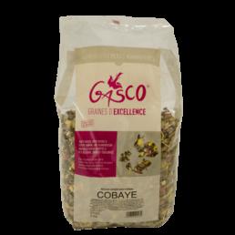 aliment pour cobaye de la marque gasco sachet de 3kg