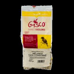 mélange 100% consommé 800gr alimentation pour oiseau de la marque gasco