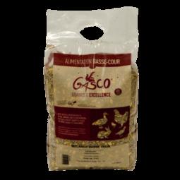 mélange basse cour 5kg alimentation pour la basse cour de la marque gasco