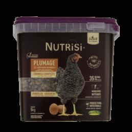 nutrisi plumage 5kg alimentation pour poule de la maque gasco