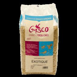 alimentation pour oiseau exotique sachet de 5kg de la marque gasco