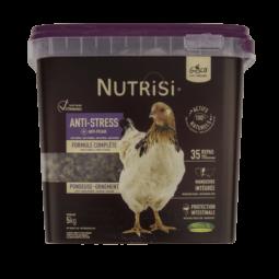 nutrisi anti stress 5kg alimentation pour les poules de la marque gasco