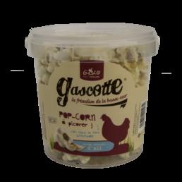 Pop-corn à l'ail pour poule de la marque Gasco aliment pour poule