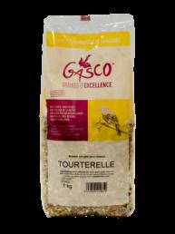 Alimentation pour tourterelle, mélange de graines de 1kg, 5kg ou 20kg. de la marque Gasco