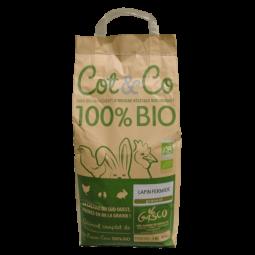 Alimentation Bio sachet de 5 kg pour lapin fermier de la gammr COT&CO de la gasco