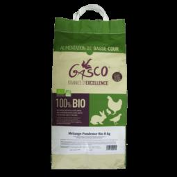 Mélange Pondeuse Bio 8 kg alimentation bio pour poule pondeuse de la marque gasco