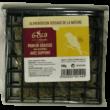 Pain de graisse arachides avec support aliment pour oiseaux de la marque gasco