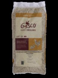 Litière naturelle rafle de maïs pour tous les types d'animaux 12kg de la marque Gasco