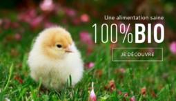 affiche cent pour cent bio pour la marque gasco