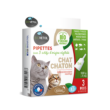 Pipettes antiparasitaires pour chat et chaton Biovetolsectifuges pour chaton et chat biovetol